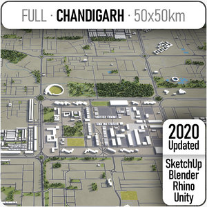 chandigarh surrounding - model