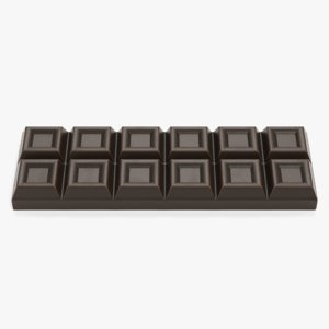 chocolate bar 3D