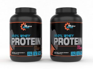 muscle gears whey protein model