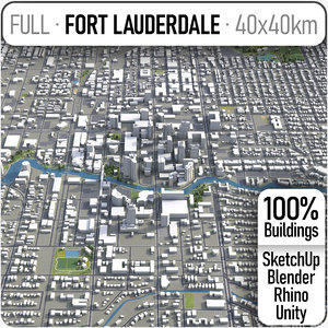 fort lauderdale surrounding - model