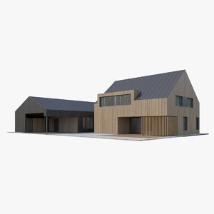 3D apartment house model