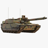 Leclerc French Main Battle Tank AMX-56