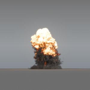 explosion - 03 vdb model