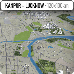 Kanpur - Lucknow - city and surroundings