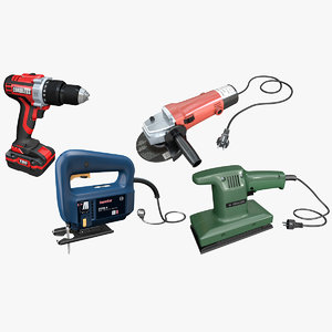3D power tools cordless drill