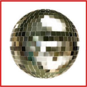 super disco fashion ball 3d model