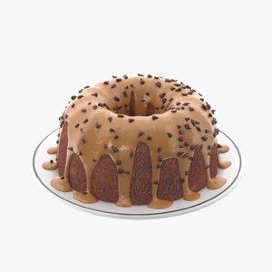 3D cream cake