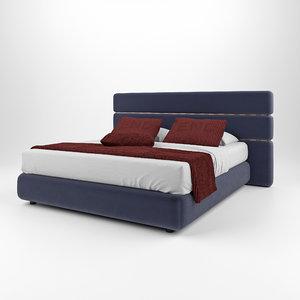 3D model fendi casa lambert bed