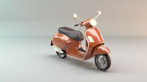 vespa scooter model