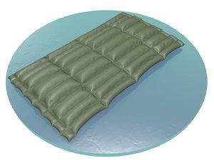 3D army mattress