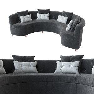 3D ring sofa