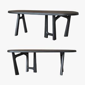 bureaux christophe delcourt table 3D model