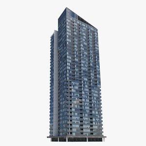 pinnacle adelaide buildings 3D model