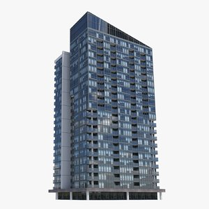 3D pinnacle adelaide buildings model