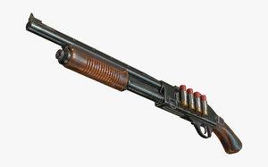 3D short shotgun