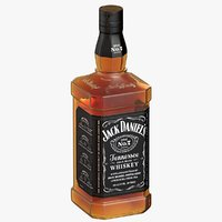Jack Daniel's Whiskey Bottle