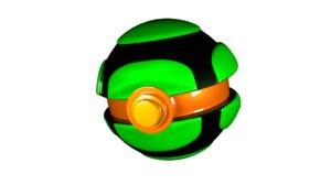 dusk ball 3D model