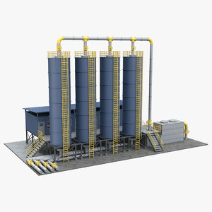 industrial 1 3D
