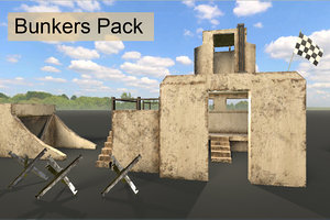 3D pack bunkers