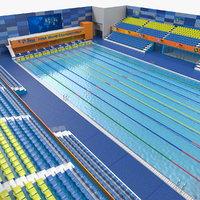 olympic swimming pool fina model