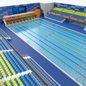 olympic swimming pool fina model