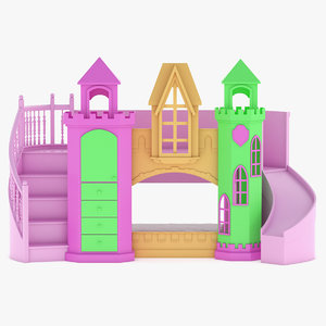 bed room castle model