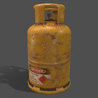 PBR Cooking Gas Cylinder (Yellow)