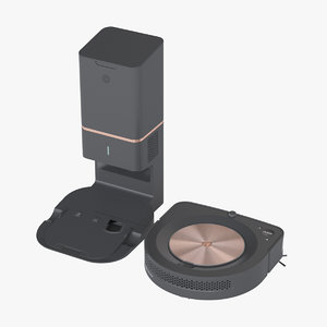 photoreal robot vacuum irobot 3D model