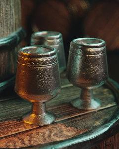 3D antique goblet model