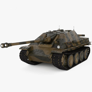 3D jagdpanther vehicle