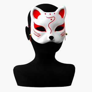 carnival mask 3D