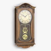 bulova pendulum wall clock model