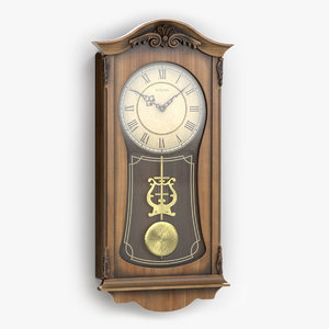 bulova pendulum wall clock model