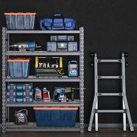 3D main garage tools