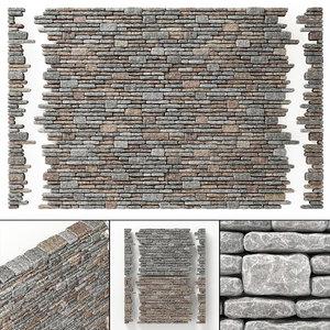 rock brick 3D model