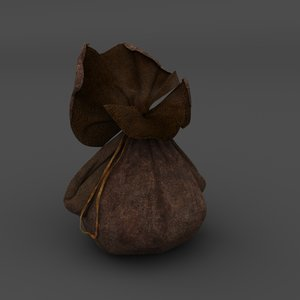 3D pouch money model