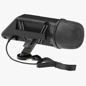 3D rode microphone mic