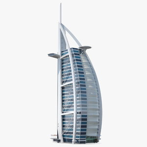 3D burj al arab tower