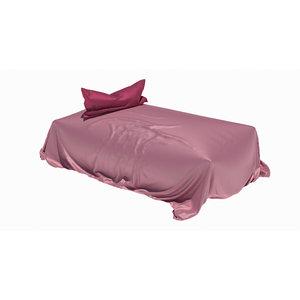 3D loose bed silk