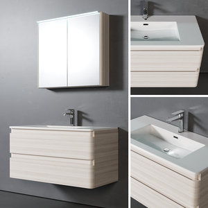 3D washbasin mirror model