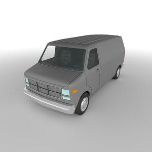 polycar n33 cars 3D model
