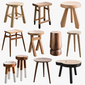 3D realistic stool model