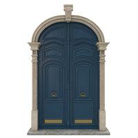 Entrance classic door 21