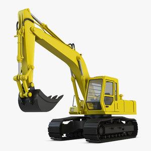 excavator x model