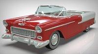 chevy belair 1955 3D model