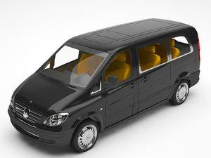 3D model truck
