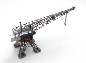 3D crane port