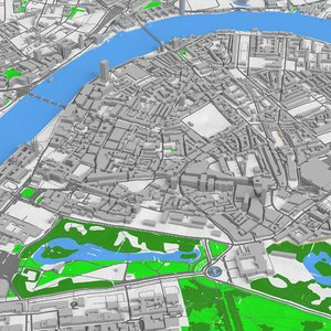 3D london westminster model