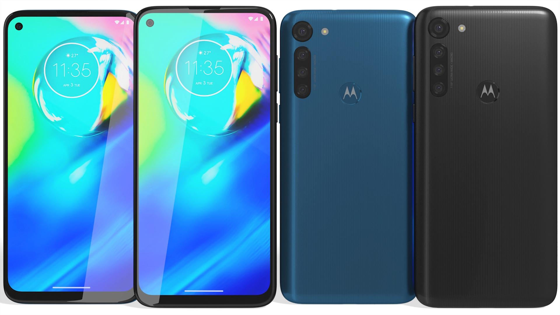 Motorola Moto G G8 Power Black & Blue