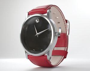 black watch 3D model